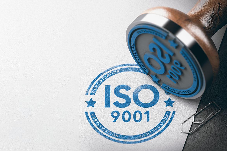 Certificazioni di qualità ISO 9001/2015
